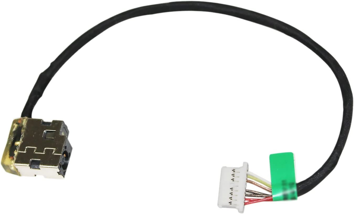 GinTai DC Jack Power with Cable Harness Replacement for HP Chromebook 15-ab153nr 15-ab157nr 15-ab161nr