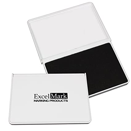 Amazon excelmark ink pads for rubber stamps medium size 2 58 excelmark ink pads for rubber stamps medium size 2 58 by 4 reheart Choice Image