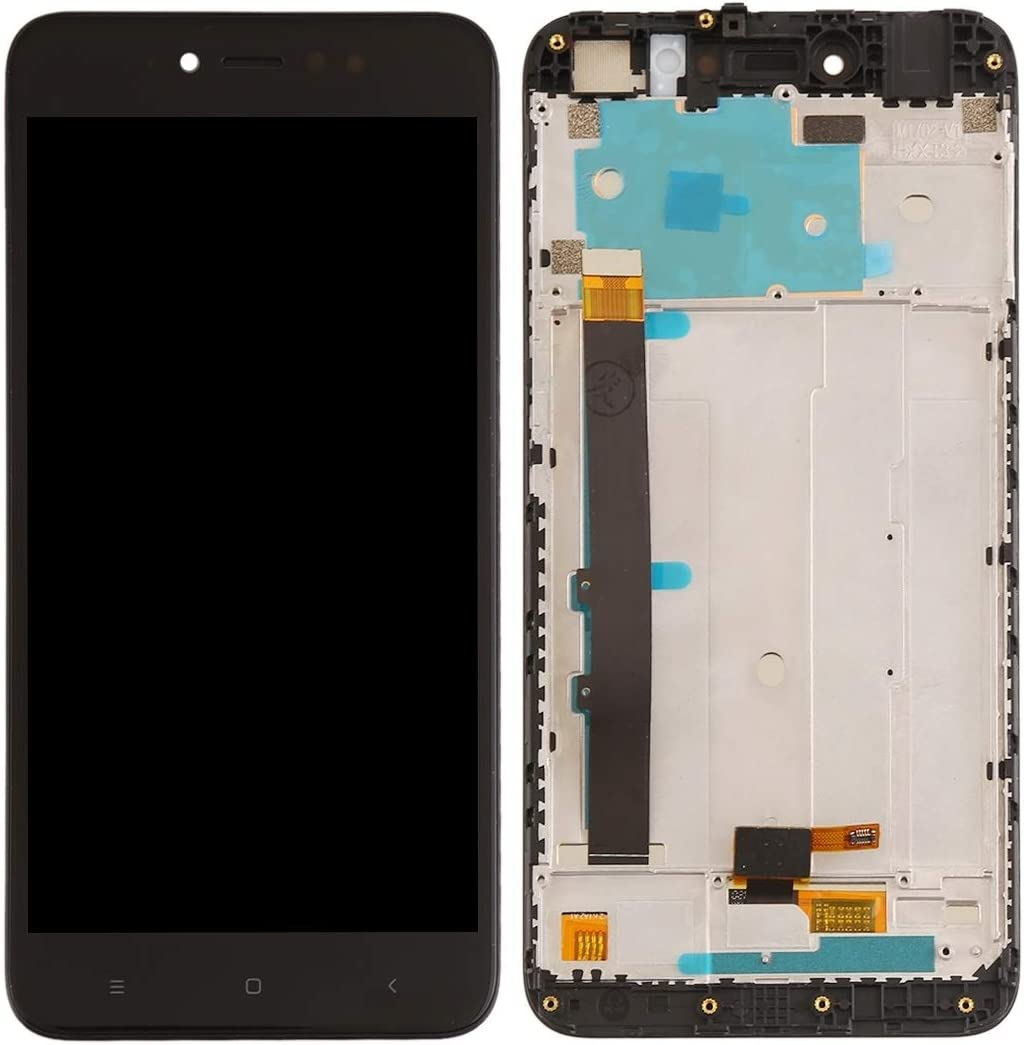 Color : Black Smartillumi for LCD Screen Replacement LCD Screen and Digitizer Full Assembly with Frame for Xiaomi Redmi Note 5A Prime//Remdi Y1 Black