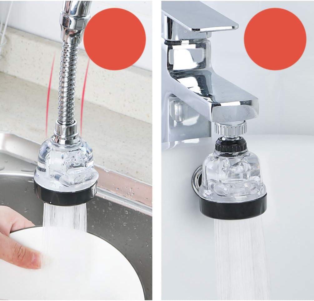 TOPBATHY grifo giratorio aireador fregadero de 360 ??grados boquilla de la cabeza del aireador grifo de agua para lavar el lavabo del ba/ño