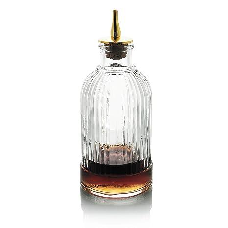 Bitter botella para cóctel - Botella de vidrio amargo, con ...