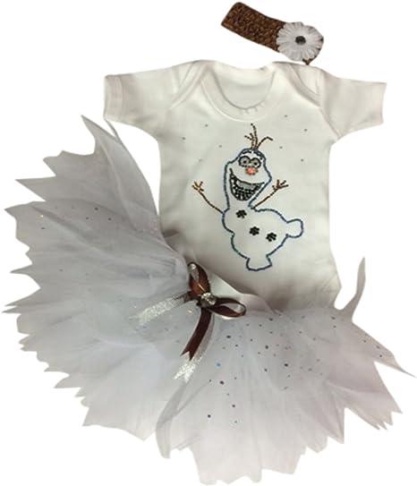 Disfraz con tutú para niña Olaf Talla:2-3 años: Amazon.es: Bebé