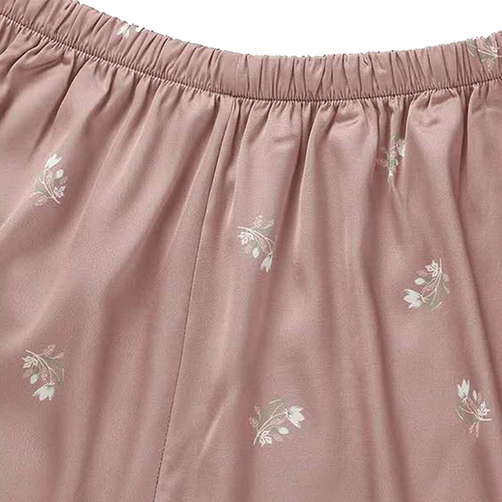 Pijamas Para Mujer Verano Nuevos Pantalones Cortos De Eslinga De Encaje Conjunto Pijamas De Seda De Hielo Mujer Ropa De Dormir