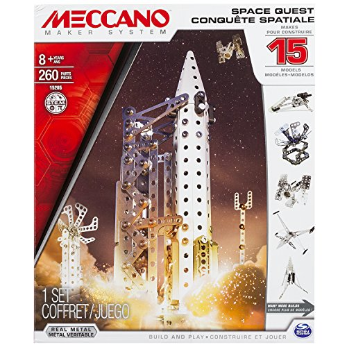 Meccano Space Quest Set, 15 Model Buildi…