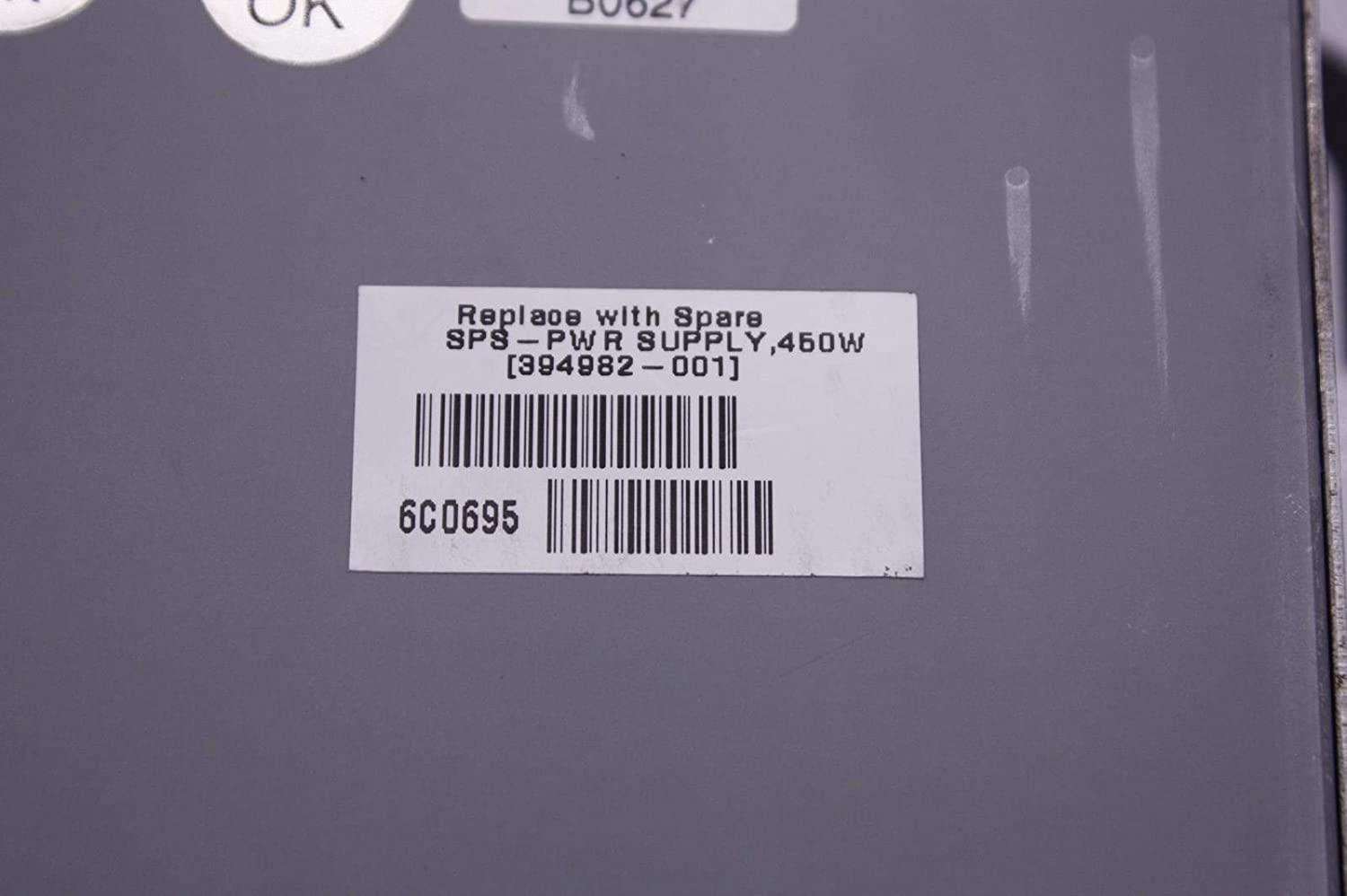HP 394982-001 450W Power Supply for Proliant DL320 G4