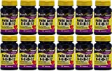 Mason Vitamins Folic Acid B-6 & B12 Heart Health Formula 90 Tablets per Bottle Pack of 12 Total 1080 Tablets