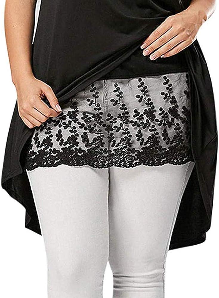 Mujer Faldas Corta De Encaje Tallas Grandes Faldas Plisada De ...