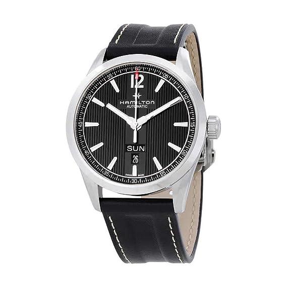 Hamilton H43515735 Broadway Day Date Auto Reloj Hombre: Hamilton: Amazon.es: Relojes
