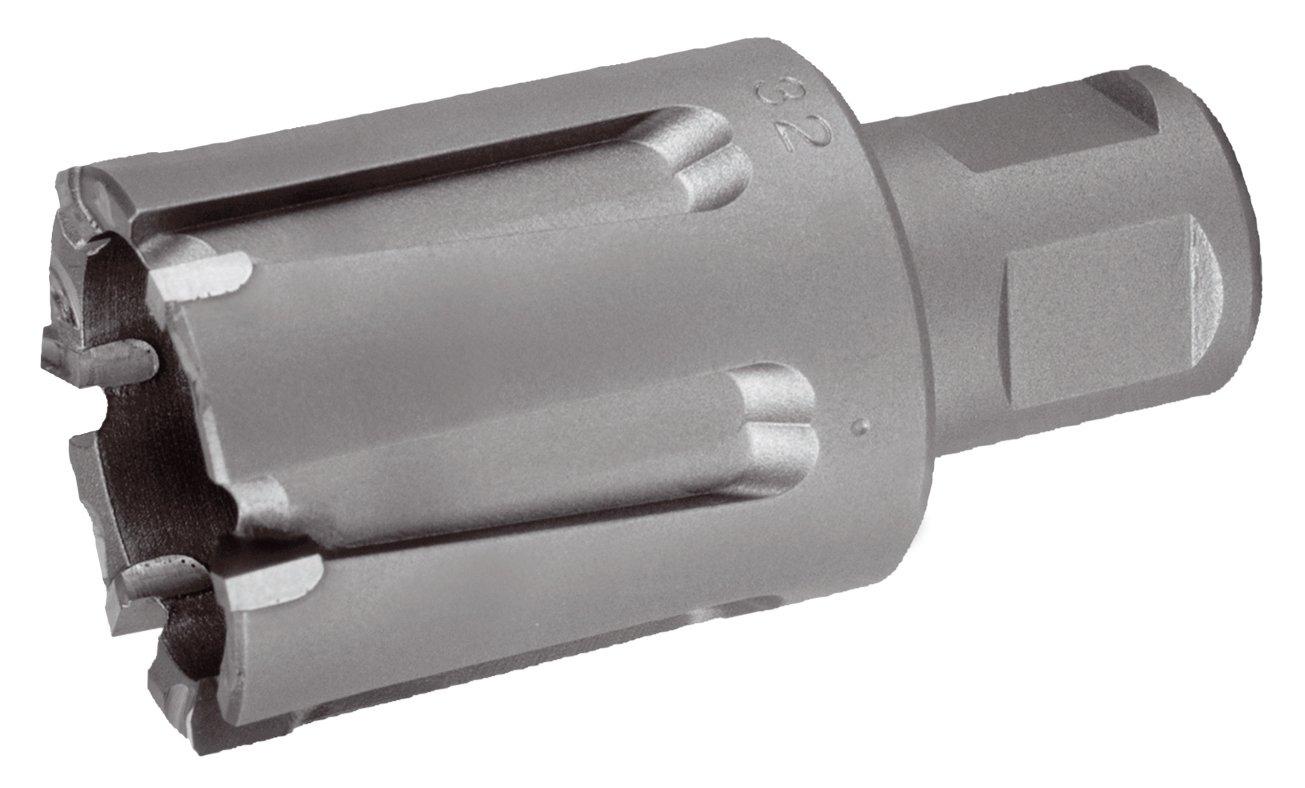 para v/ías de tren 24 mm dientes metal duro , Ruko 1081524 Broca hueca v/ástago Weldon