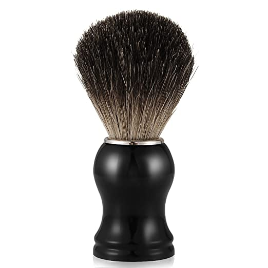 5 opinioni per Pennello da barba, Mture Pennello da barba con setole di puro tasso,