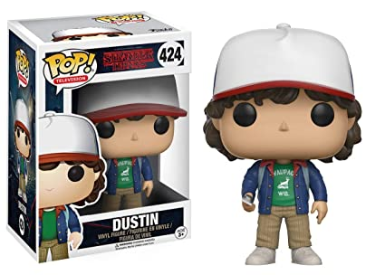 Funko - Pop! Vinilo Colección Stranger Things - Figura Dustin (13323)