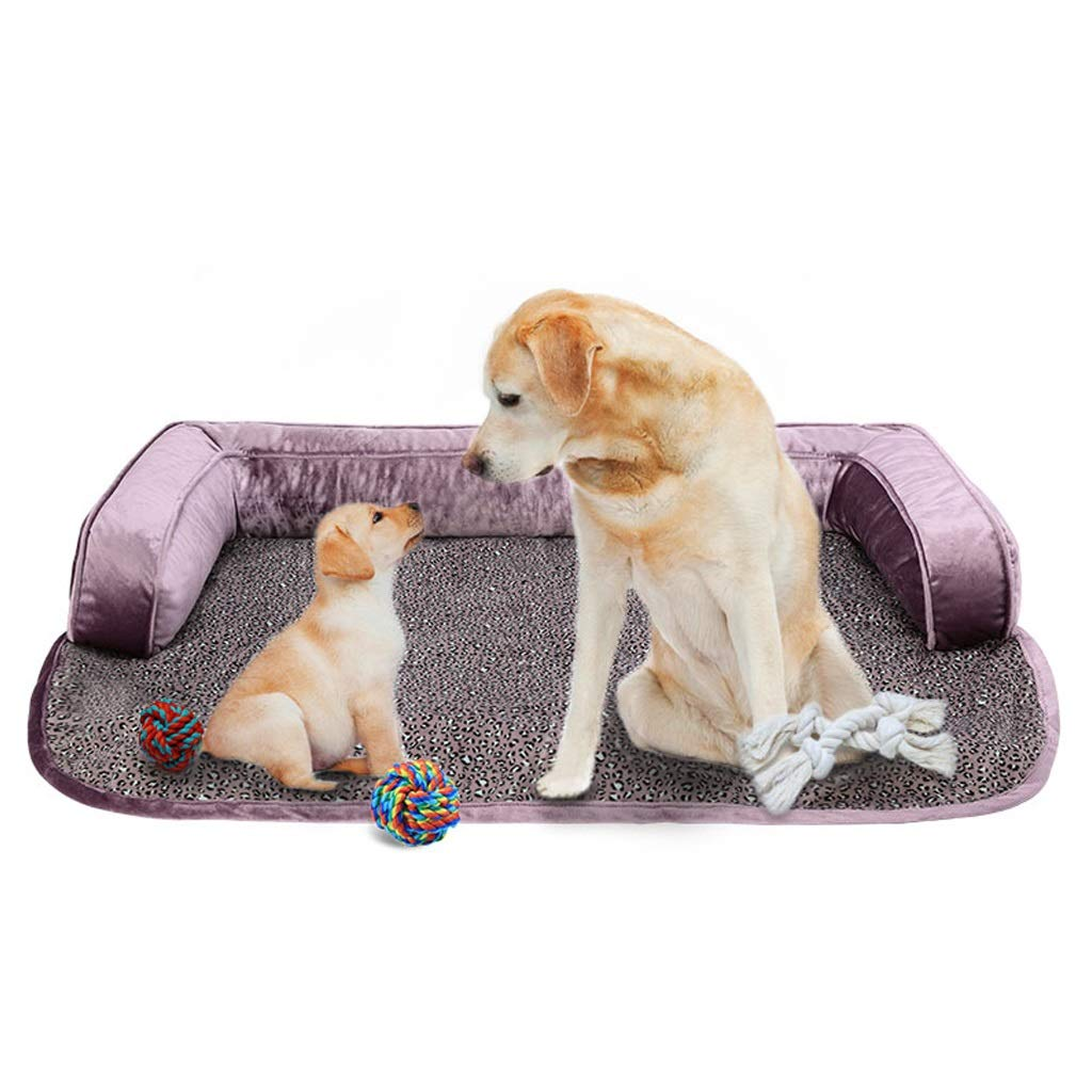 B Dog Bed Mat,Comfortable Pet Bed Puppy Cat Cushion Detachable And Washable Durable Medium Large 90  70  12CM (color   B)