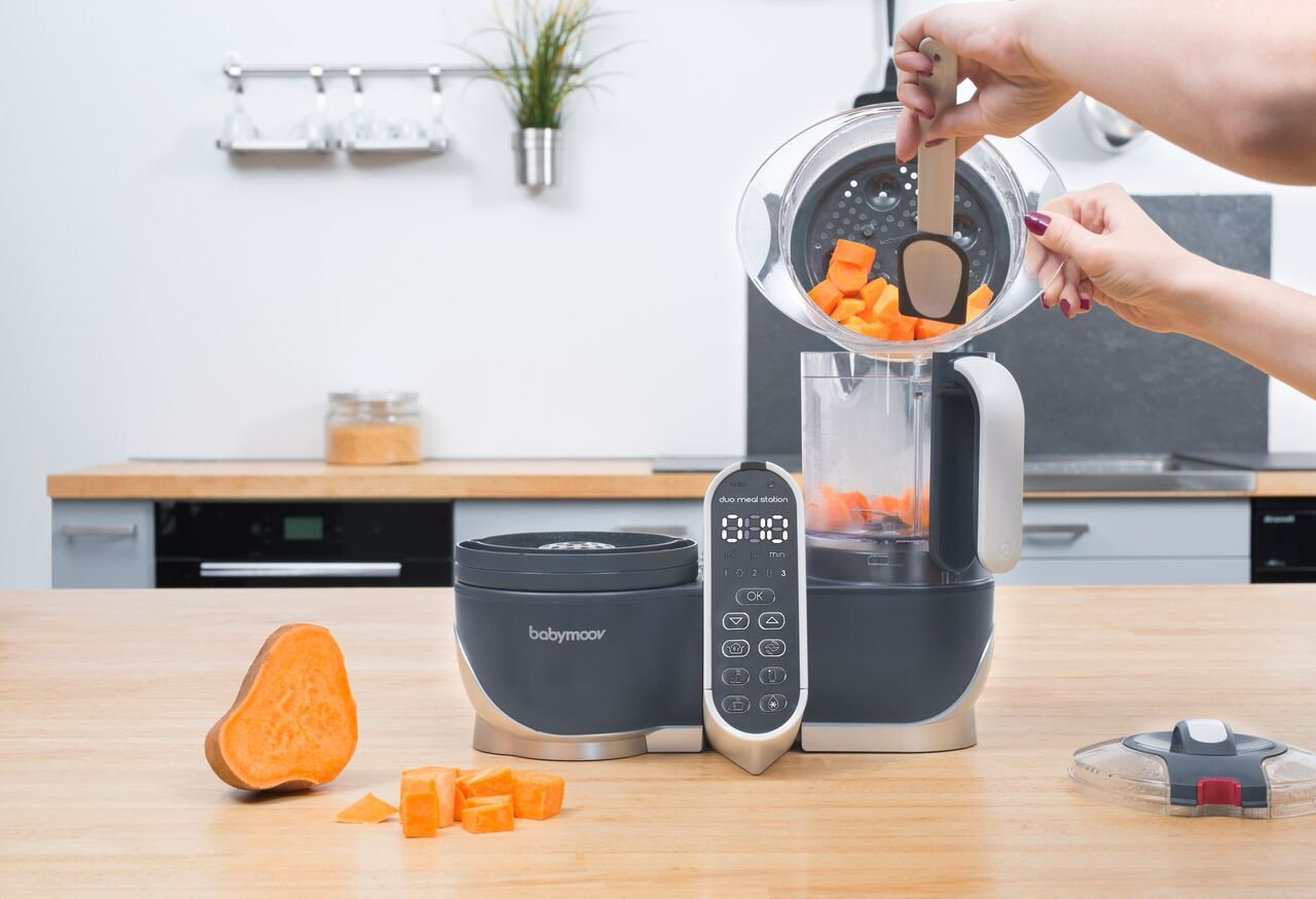 Duo Meal Station Food Maker | 6 in 1 Food Processor with Steam Cooker, Multi-Speed Blender, Baby Purees, Warmer, Defroster, Sterilizer (2019 NEW VERSION) by Babymoov (Image #7)