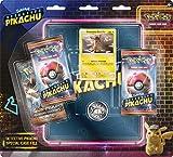 Pokemon Detective PikachuSpecial Case File TCG: 3 Booster Pack + Movie Binder