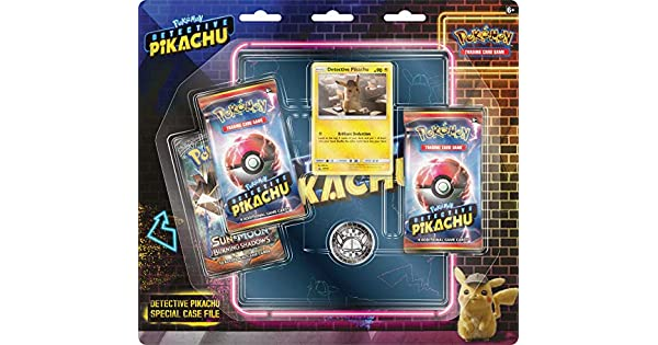 Amazon.com: Pokemon TCG: Detective Pikachu Special Case File ...