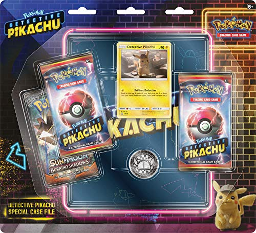 (Pokemon Detective Pikachu Special Case File TCG: 3 Booster Pack + Movie Binder )