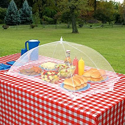 Amazon Com M V Trading Giant Outdoor Tabletop Food Cover 24 W
