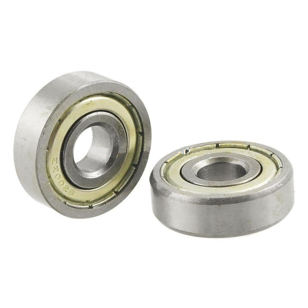 TOOGOO 6200Z 10mm x 30mm x 9mm Double Shielded Ball Bearing