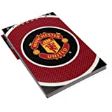 Manchester United FC Official Football Gift Reporters Notepad - A Great Christmas / Birthday Gift Idea For Men And Boys