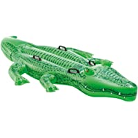 Intex Enfants Large Gonflable Ride on Alligator avec Quatre Poignées # 58562p