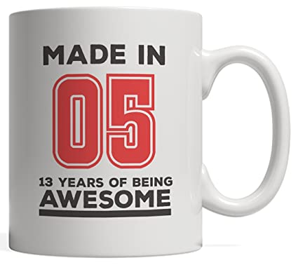 Made In 05 13 Years Of Awesomeness Mug