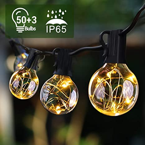 Led Ersatzlampen Für Lichterkette.Quntis 17 7m 50er Lichterkette Aussen Ip65 Lichterkette