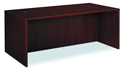 HON BL Laminate Series Office Desk Shell   Rectangular Desk Shell, 72w X  36d X