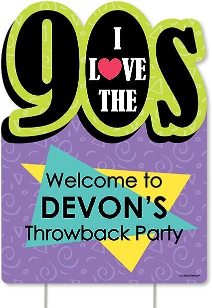 MAGJUCHE I Love 80s Balloons 16pcs 1980s Retro Themed Party Decorations,