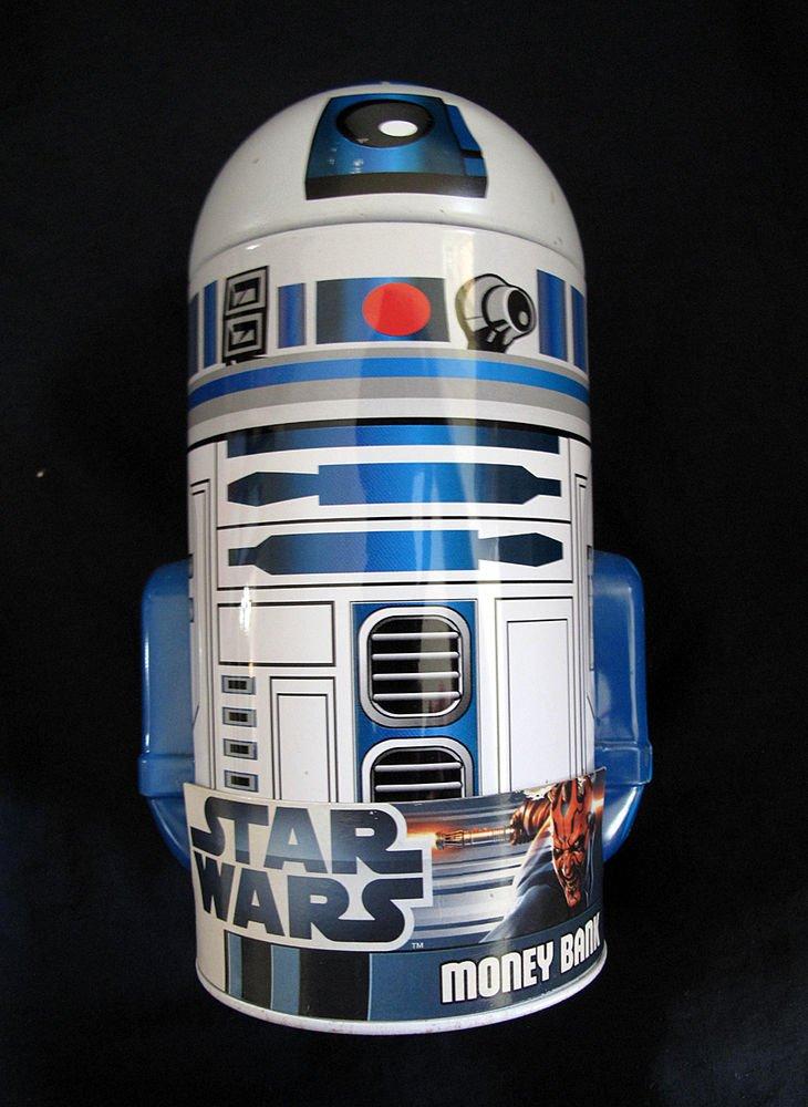 Star Wars R2-D2 Shaped Tin Bank