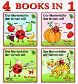 Learn German first words - 4 Dictionaries for Children (First words Collection - for Children)
