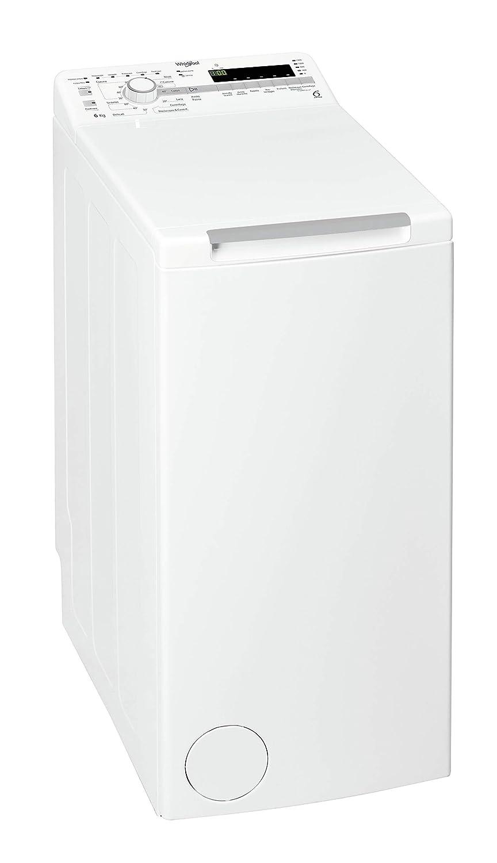 Whirlpool TDLR 60214 machine à laver Autonome Charge supérieure Blanc 6 kg 1200 tr/min A+++ - Machines à laver (Autonome, Charge supérieure, Blanc, boutons, Rotatif, Haut, Blanc)