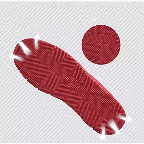 Loisirs Chaussures 8 Feifei Plaque De Antidérapants Qualité Sports Taille 5 Chaudes De 41 Couleurs Eu Et Hommes Uk7 Chaussures Cn42 Garder Pour Rouge D'hiver Haute 3 Matériaux couleur rFwaxPrnqE
