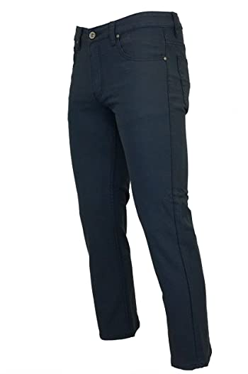 Checker Textured Slim Fit Stretch Pants