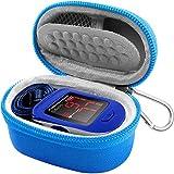Case Compatible for ZPro Series 500DL/ BL/CMS 50-DL/Facelake/Innovo Deluxe/Facelake/Santamedical/Fingertip P.O Blood Oxygen Saturation Monitor(CASE Only)-Blue (Color: Blue)