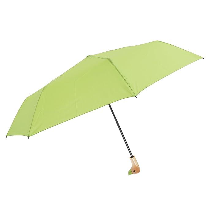 Susino - Paraguas plegable con mango en forma de pato (Talla Única/Rosa): Amazon.es: Ropa y accesorios
