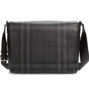 Amazon.com  Burberry Burberry THE BARROW Briefcase (Navy Black ... 559530effca47