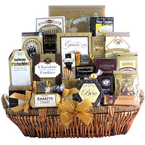 Great Arrivals Champagne Gift Basket, The Grand Gourmet