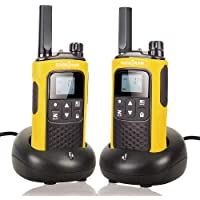 Rechargeable Walkie Talkies for Adults Long Range Walkie-Talkies 5 Miles Two Way Radio with Rechargeable Battery for…