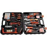 set 100 pz utensili con valigetta porta attrezzi,Kit strumenti di lavoro