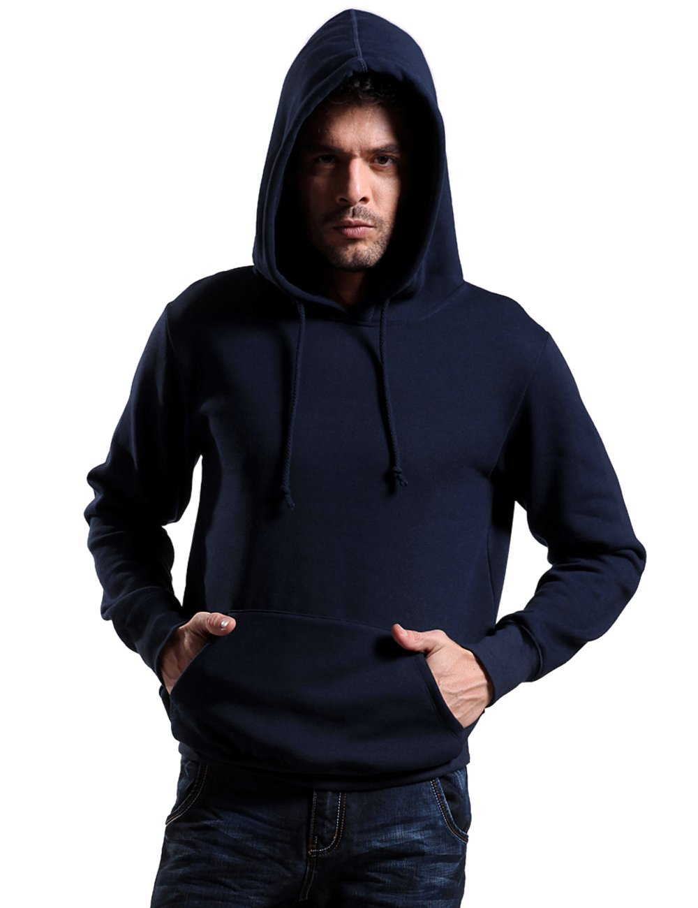 Godsen Men's Hoodie Sweatshirt Pullover Fleece Outerwear GM1003