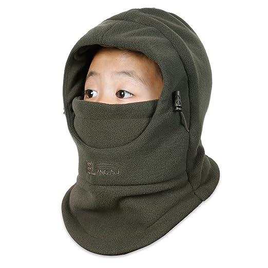 bec56f3d11fe Amazon.com  OJSCOS Kids Windproof Double Thick Fleece Hoody ...