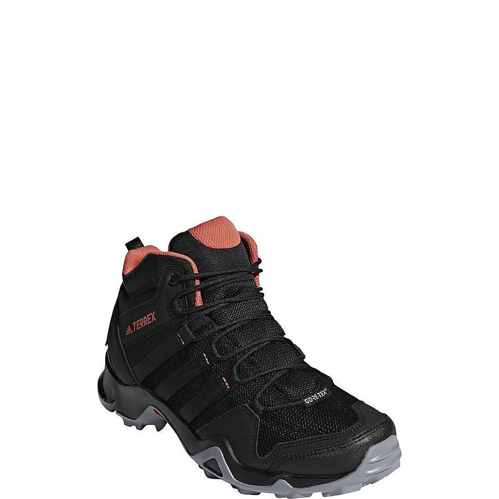 adidas Sport Performance Women's Terrex Ax2r Mid GTX W Sneakers B072Y64J5K 6.5 M US|Black, Black, Trace Scarlet