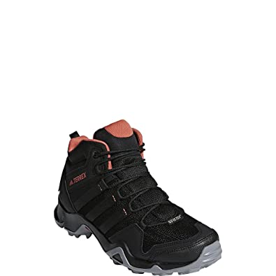 detailed look 1982c 47739 adidas outdoor Womens Terrex AX2R Mid GTX BlackBlackTrace Scarlet 5 ...