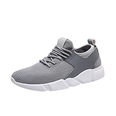 ELECTRI Sneakers Homme,Hommes Mode Couleur Unie Cross Tied Stripe Casual  Chaussures De Gym Chaussures d56628694890