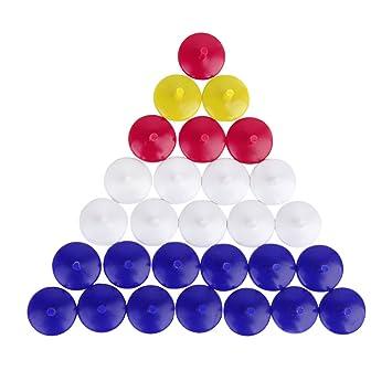 50x Marcadores De Pelota Bola De Golf Plástico Color Mezclado Golf ...