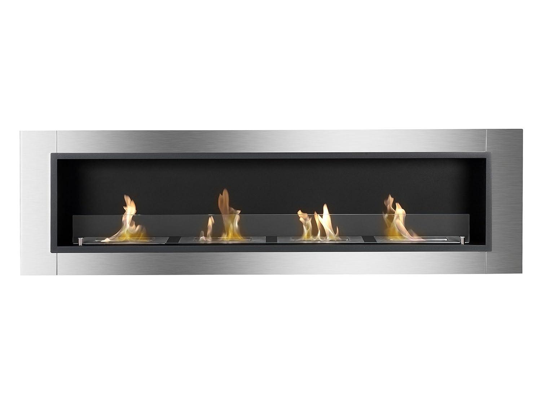 amazon com ignis ventless bio ethanol fireplace accalia with