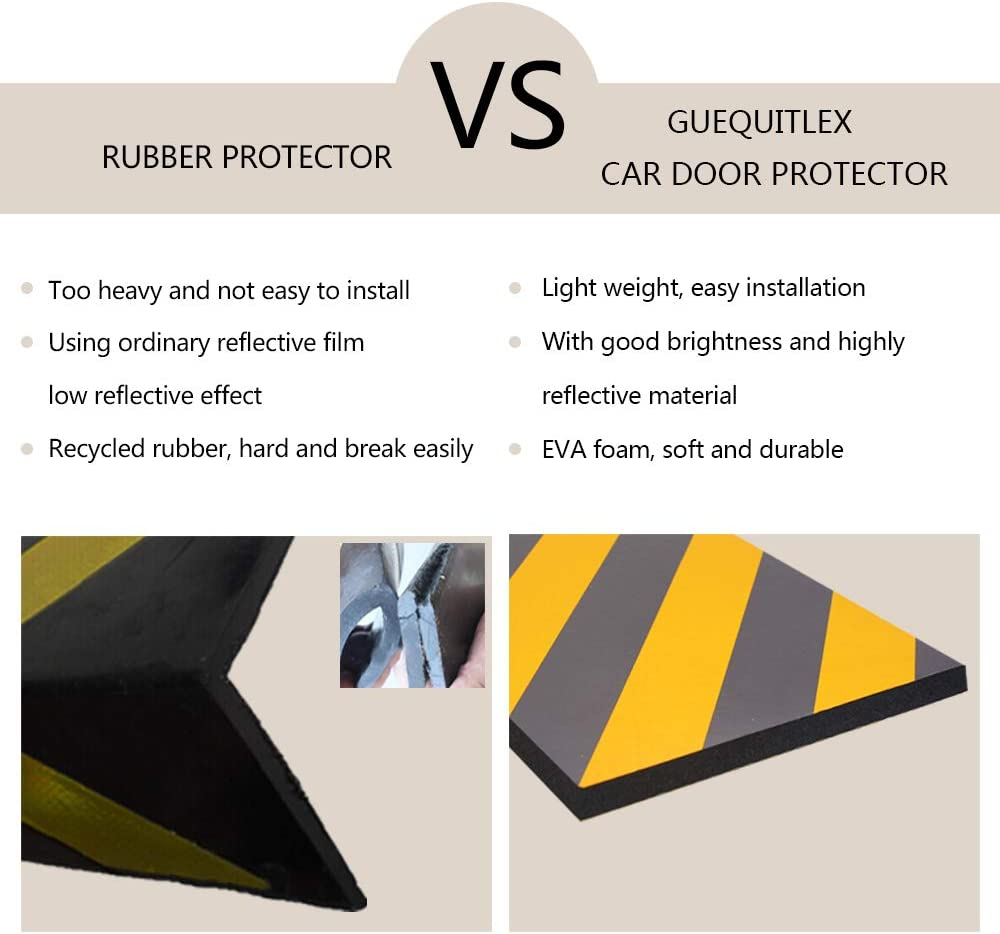 Garage Wall Wall Corner Edge and Bumpers Corner Guards Wall Edge Protector Protect Your Car GUEQUITLEX Garage Wall Protector Foam Wall Corner Guard for Parking Garages