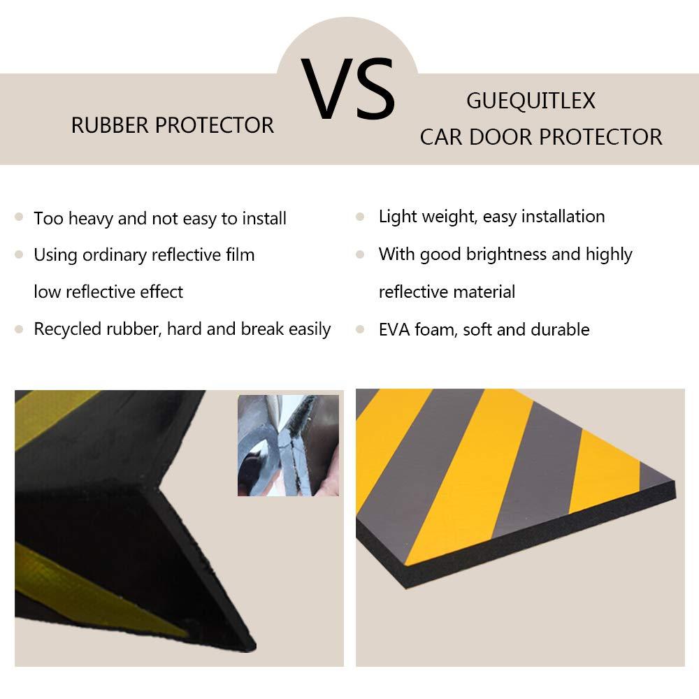 paraurti e anti-graffio e gomma Bewave Protector di parcheggio garage da parete attenzione angolo guardia schiuma