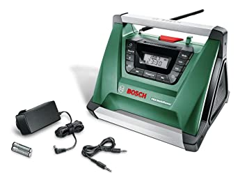 Test Bosch Akku Radio PRA Multipower