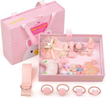 100 Pcs//pack Cute Girls Hairpins Baby Kids Headwear Snap-on Hair Clip Barrette